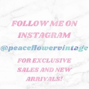 Follow the shop on Social media! 🦋🦋🦋